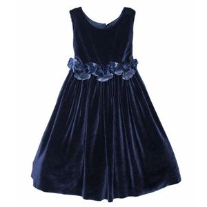 NWT ISABEL GARRETON Holiday Velvet Girls Dress